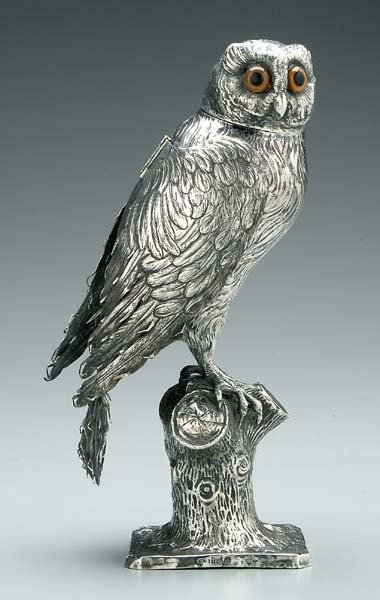 8: Continental silver owl,