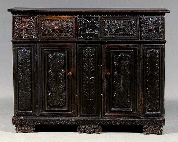 18: Continental sideboard,