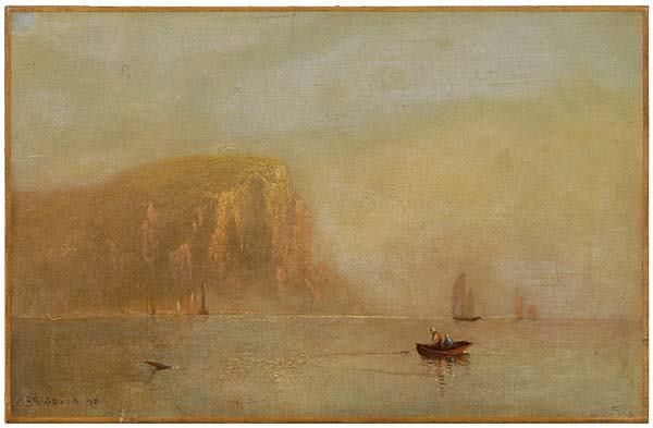 159: Charles H. Gifford painting,