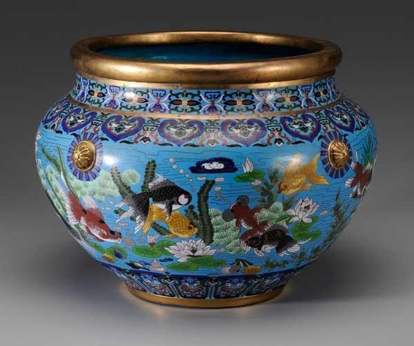 2: Cloisonné Fish Bowl