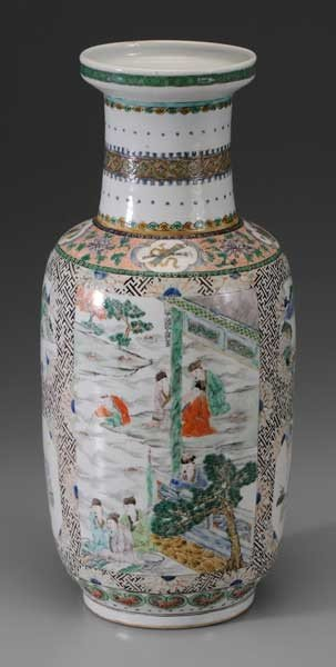 18: [Wucai] Porcelain Vase
