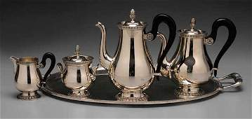 Four-Piece Christofle Silver-Plated
