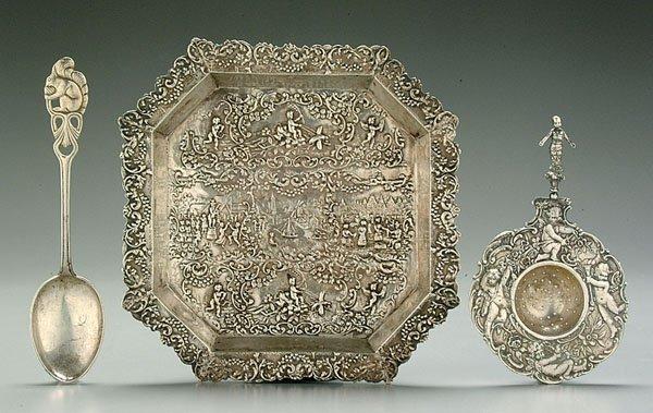 14A: Three pieces silver: