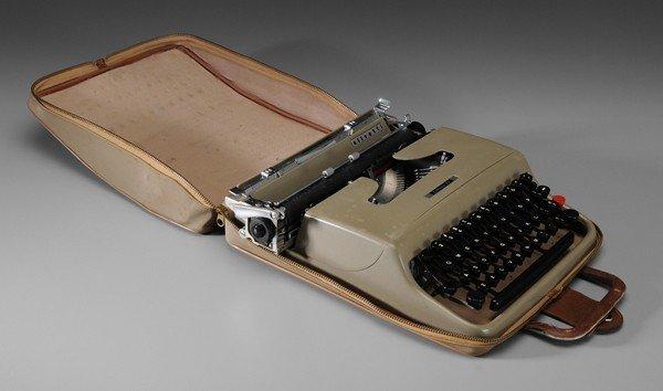 1: Reynolds Price's Vintage Olivetti