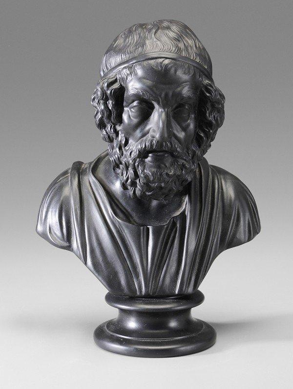 9: Wedgwood Bust of Homer