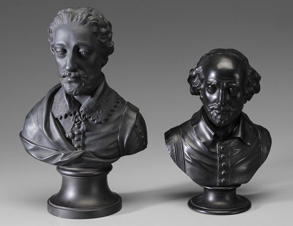 10: Spencer and Shakespeare Wedgwood Busts