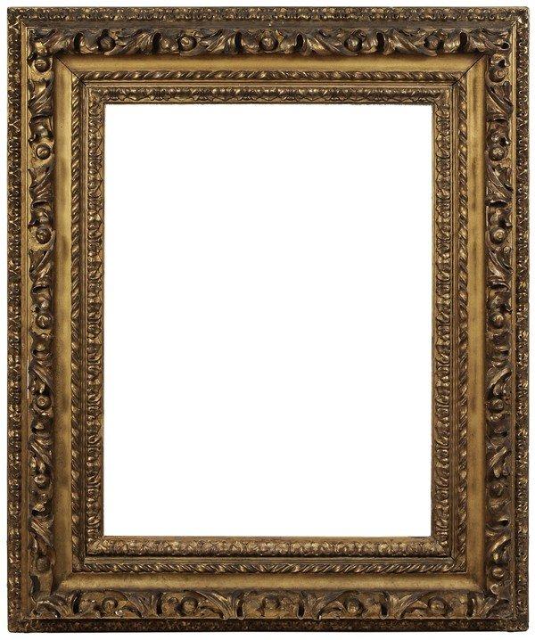 261: Baroque Carved and Gilt Wood Frame