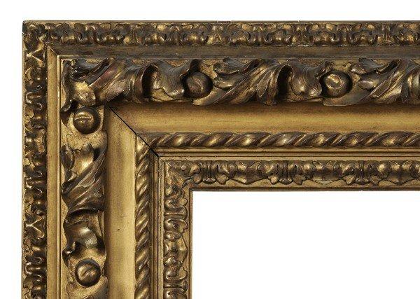 261: Baroque Carved and Gilt Wood Frame - 2