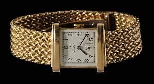 688 Gentlemans 14 Kt Gold Omega