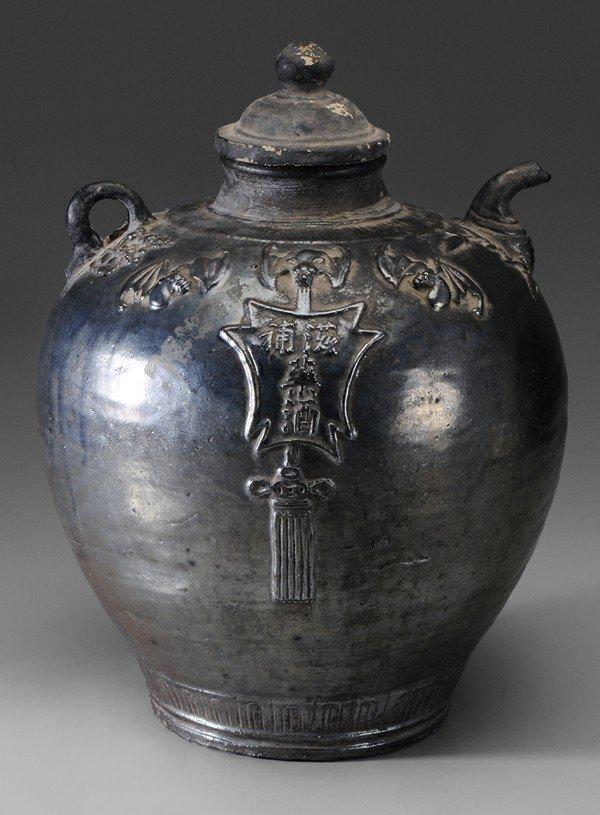 702: Ceramic Wine Jar