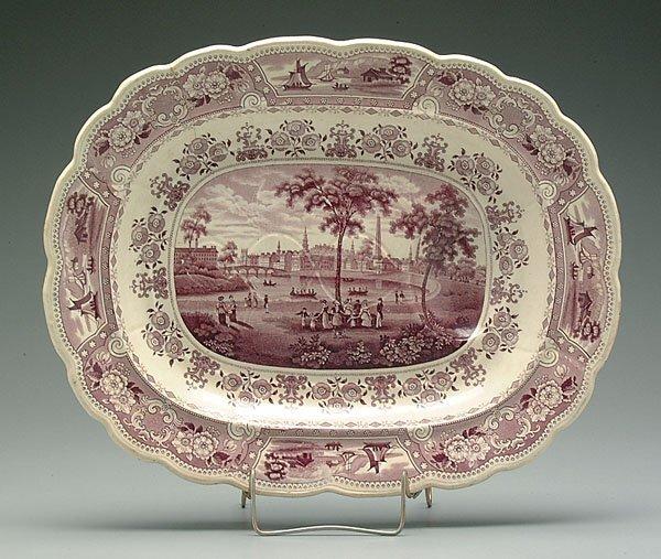 516: Mulberry transfer platter,