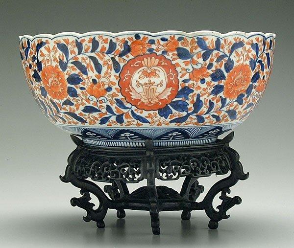 519: Imari bowl,