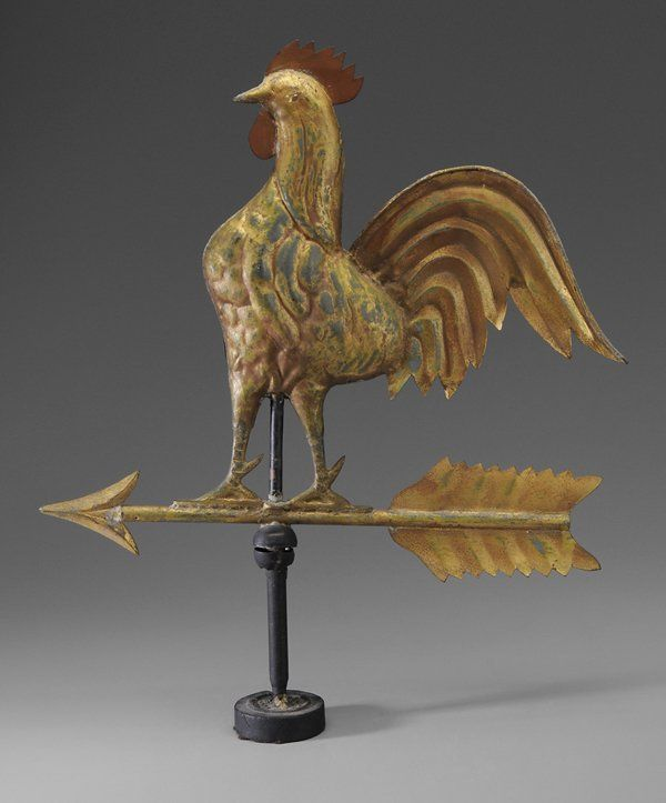 0184: Rooster Weathervane