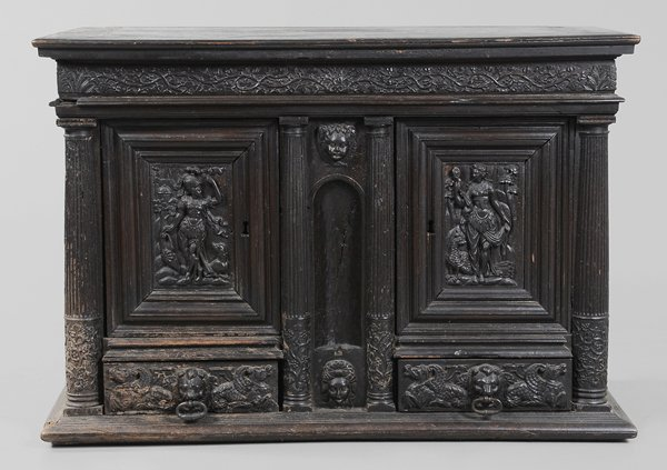 0317: Italian Renaissance Carved Walnut