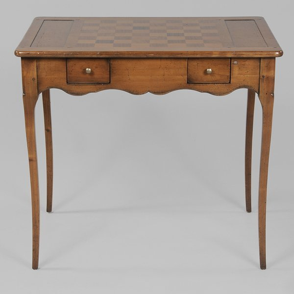 0499: Provincial Louis XV Style Fruitwood