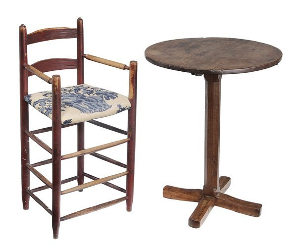 0906: American Table and Highchair