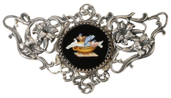 "Micromosaic ""Doves of Pliny"" Brooch"