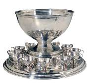 Tiffany & Co. Sterling Punch Set