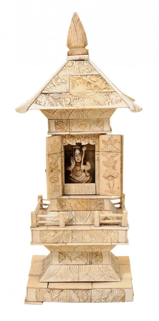Chinese Ivory Architecturally
