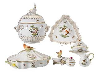 527: Sixty-Eight Pieces China, Herend