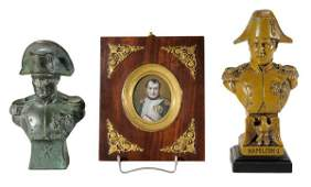 836 Miniature Portrait on Ivory Napoleon