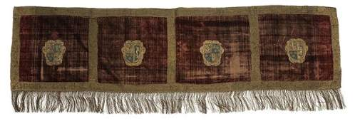 1095: Coat-of-Arms Altar Cloth