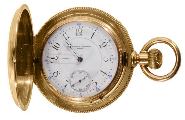1253: Vacheron & Constantin 18 Kt. Pocket