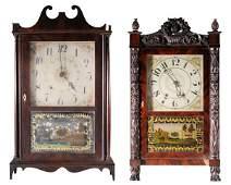 Two American Classical Shelf Clocks