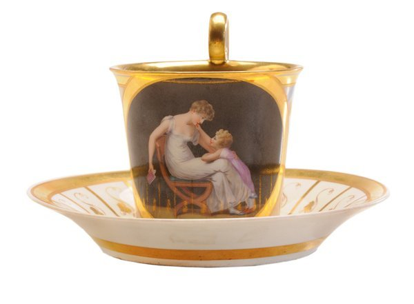 Royal Vienna Fine Hand-Painted Cup