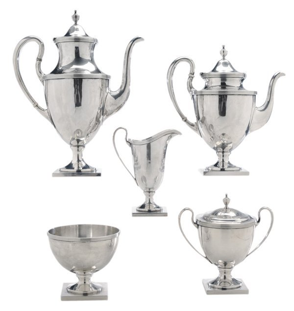Five-Piece Baltimore Sterling Tea