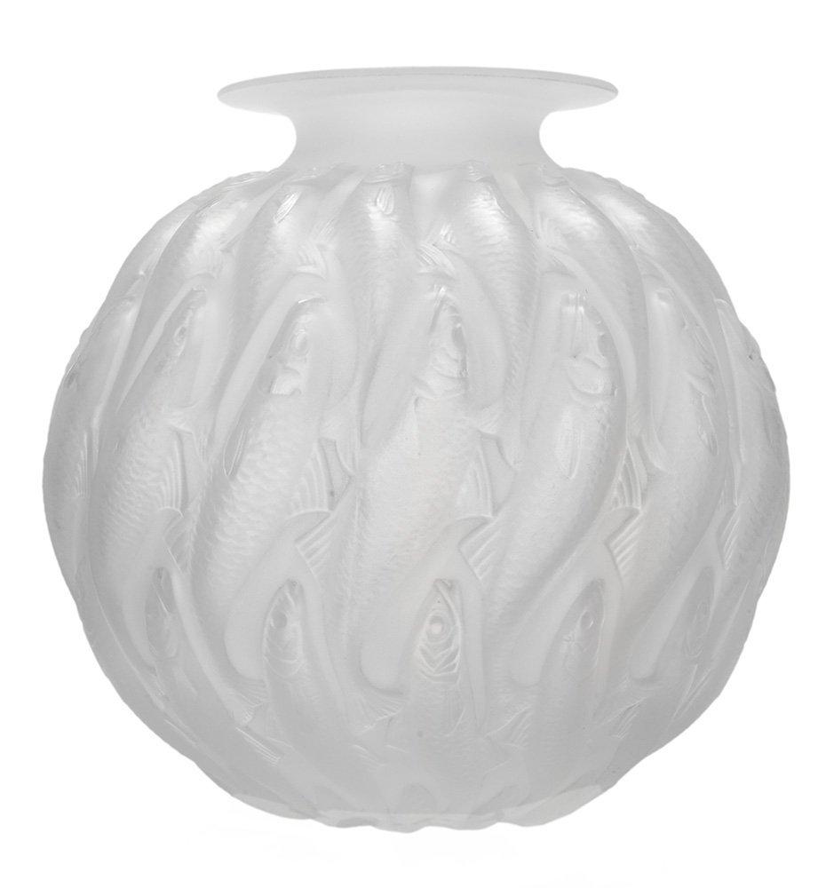 "R. Lalique ""Marisa"" Opalescent Vase"