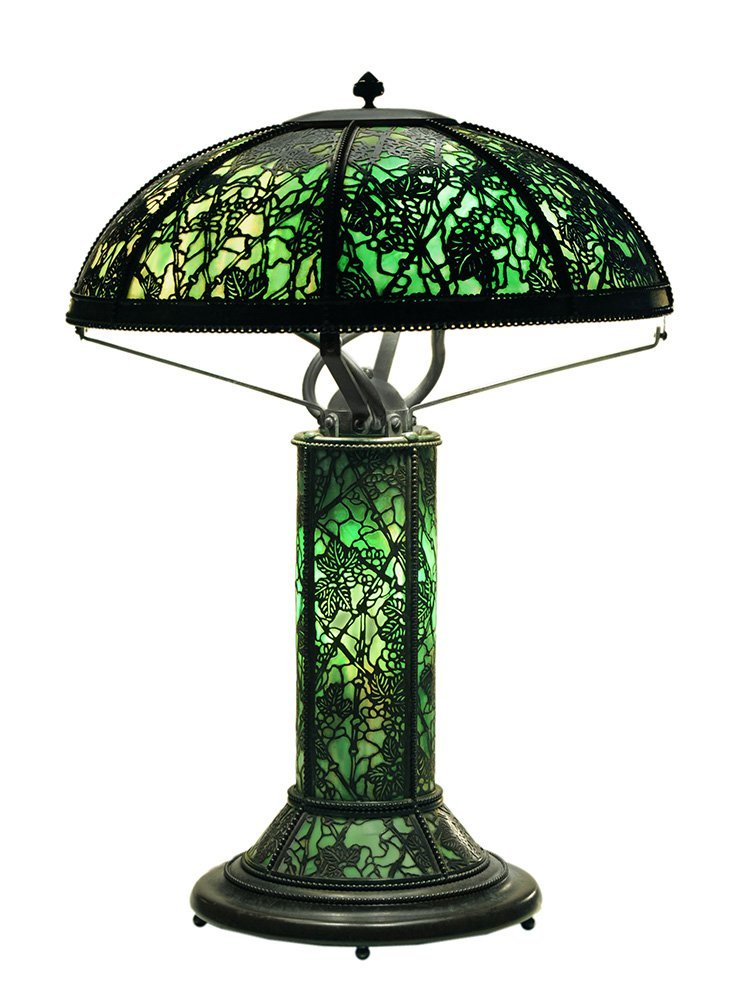 Riviere Art Glass Table Lamp