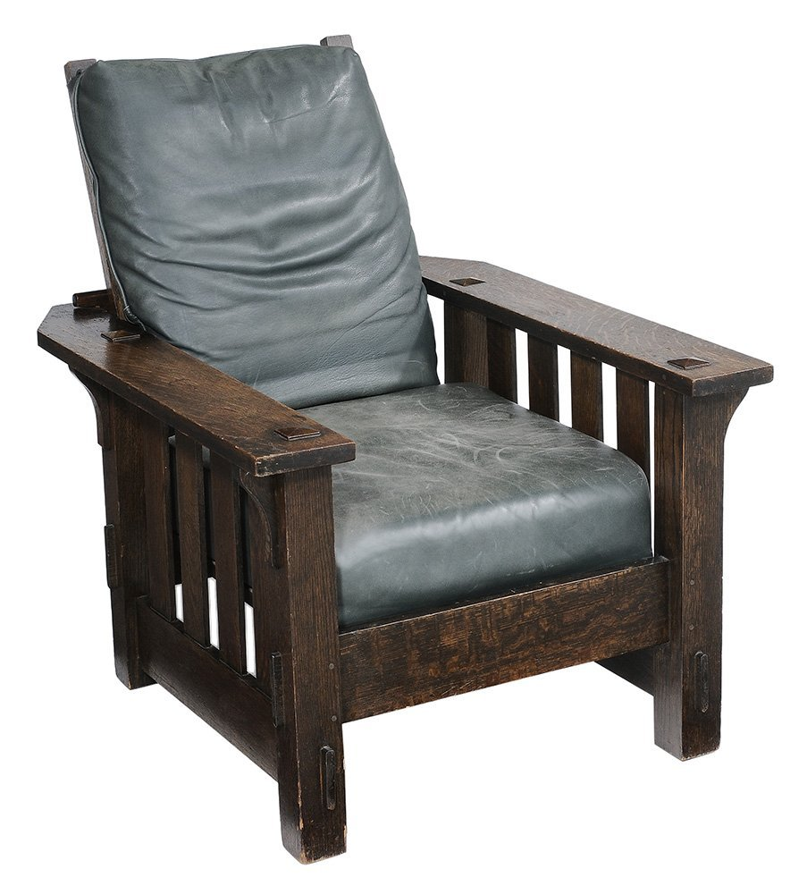 Arts and Crafts Oak Morris Chair