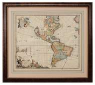Frederick De Witt Map of Western