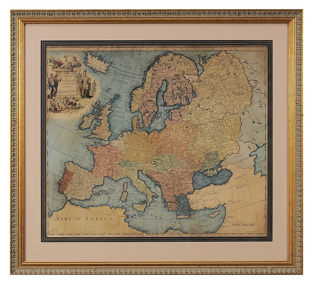 John Senex Map of Europe