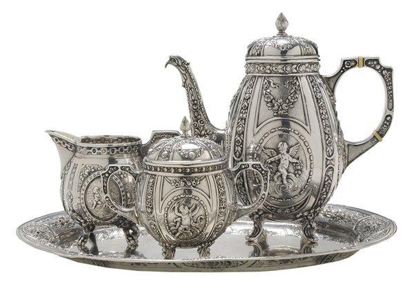 German Silver Coffee Service