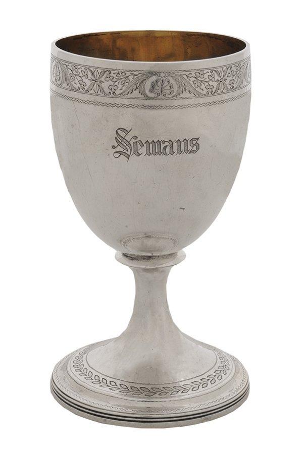 Scottish Silver Goblet