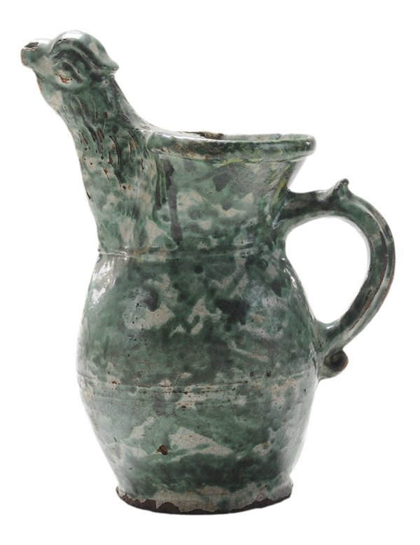 Early German Earthenware Green and