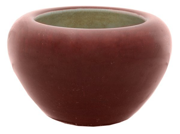 Red Ox Blood Type Crackle Glazed