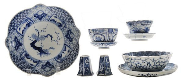 Blue and White Porcelain Partial