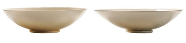 Two Chinese Ding Ware Incised