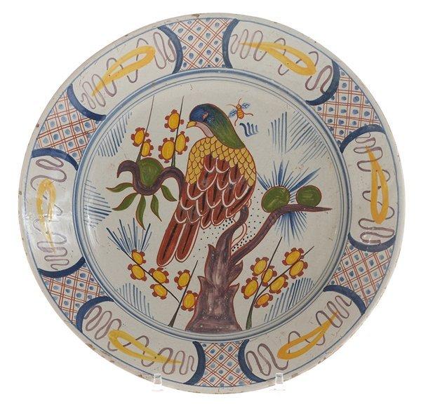 Delft Polychrome Dish