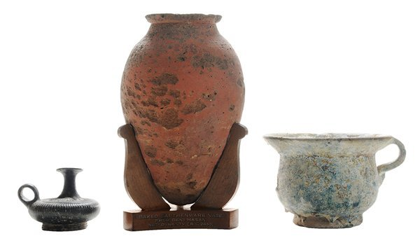 Three Pieces Early/Ancient Ceramic