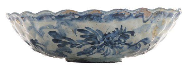 Early Delft Blue and White Scenic-