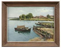 234: Painting by August Josef Weiss