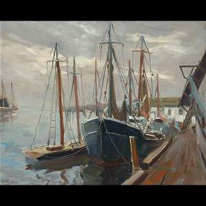 444: Painting by Anthony Thieme