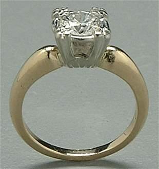 Diamond engagement ring,