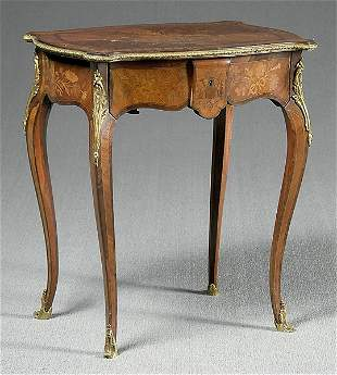 Inlaid French stand,