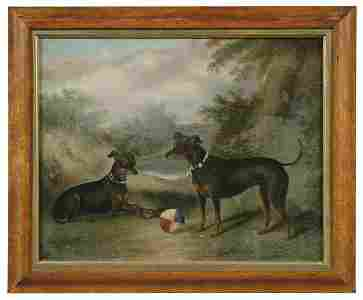 637: Painting by Albert Clark,