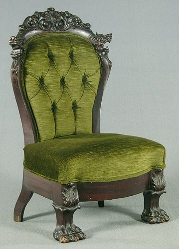 21: Carved mahogany Chinese style chair, larg